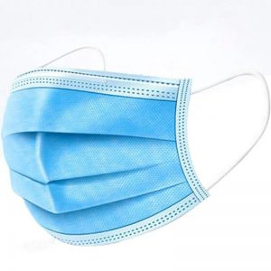 *Ready Stock*10/20/50 Pcs Disposable 3ply non Woven Mask With Ear Loop Topeng Muka 3 Lapis Breathable 独立包装 三层一次性口罩